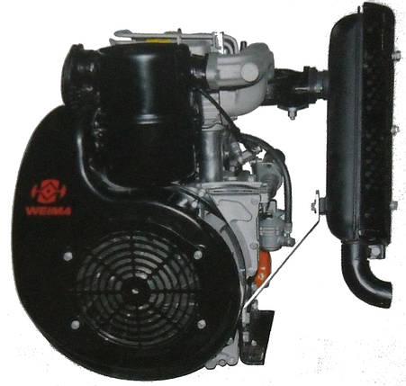 Двигатель дизельный Weima 290FE, фото 2