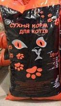 Аѕі сухий корм для котів зі смаком курки з овочами 12 кг