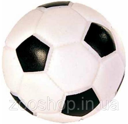 Виниловый футбольный мяч для собак Trixie 8 cм, фото 2