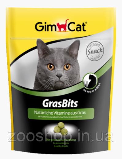 Витаминизированные лакомства с травой для кошек Gimpet GrasBits