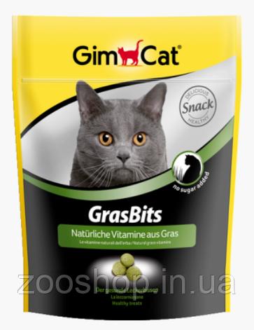 Витаминизированные лакомства с травой для кошек Gimpet GrasBits, фото 2