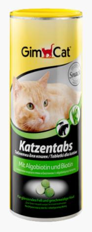 Витамины с морскими водорослями и биотином для кошек Gimpet Katzentabs, фото 2