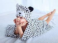 Детское полотенце с капюшоном Dream Towels Мишка 76х92 Белый (dm-1006)