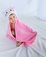 Детское полотенце с капюшоном Dream Towels Hello Kitty 76х92 Розовый (dm-1010), фото 1