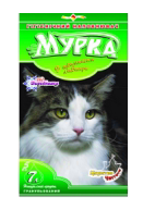 Гигиенический наполнитель МУРКА зеленая (мелкий) 5 кг