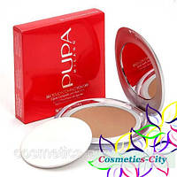 Компaктнaя пудрa Pupa Silk Touch Compact Powder (№6)