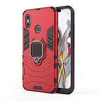 Чехол Ring Armor для Xiaomi Mi 8 SE Красный