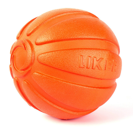 Игрушка для собак Liker Мячик 7 см