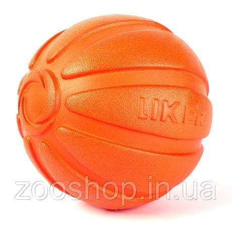 Игрушка для собак Liker Мячик 7 см, фото 2