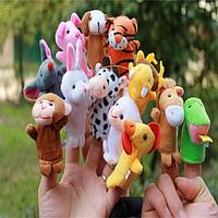 Пальчиковый кукольный театр (12 животных) Китайского зодиака