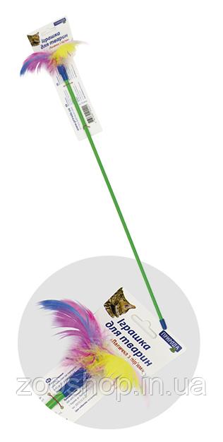 Игрушка Палочка с перьями