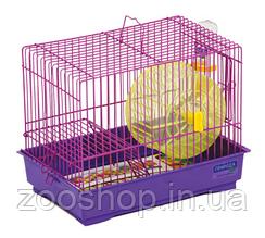 Клетка для грызунов «Давид-1» с колесом 30 х 20 х 24 см