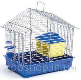 "Клетка для хомяка ""Джунгарик"" с домиком 30 х 20 х 24 см"