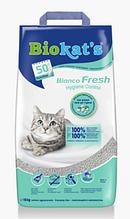 Комкующийся наповнювач для котячого туалету Biokat's Bianco Fresh 5 кг