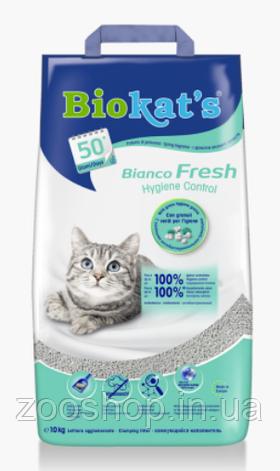 Комкующийся наполнитель для кошачьего туалета Biokat's Bianco Fresh 5 кг, фото 2
