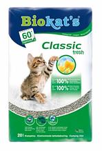 Комкующийся наповнювач для котячого туалету Biokat's Classic Fresh