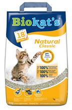Комкующийся наповнювач для котячого туалету Biokat's Natural 5 кг