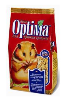 Корм Optima для мелких грызунов 500 г, фото 2