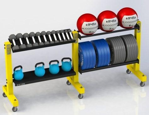 Стелаж для зберігання спортінвентарю DS-4004