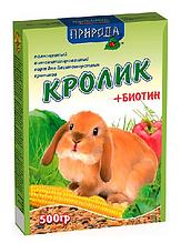 Корм Природа «Кролик + биотин»
