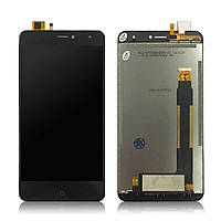LCD екран з сенсором на DOOGEE X7 Чорний