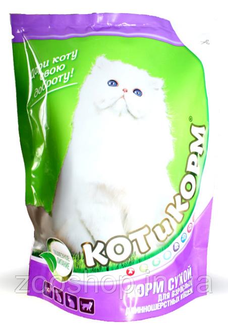КОТиКОРМ для длинношерстных кошек 10 кг