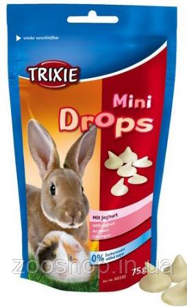 Лакомство для грызунов Trixie Mini Drops йогурт, фото 2