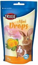 Лакомство для грызунов Trixie Mini Drops одуванчик