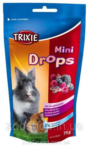 Лакомство для грызунов Trixie Mini Drops ягоды