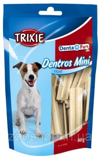 Лакомство для собак Trixie Dentros Mini с птицей