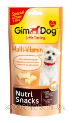 Лакомство мультивитамин для маленьких собак Nutri Snacks Multi-Vitamin
