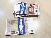 Деньги сувенир 50 евро