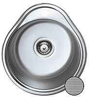 Каплевидная кухонная мойка из нержавеющей стали  Galati Lana Textura (Eko)