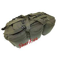 Сумка-рюкзак военный 98 литров MIL-TEC Германия OLIVE 13846001