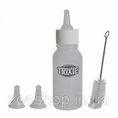 Набор для кормления с ёршиком для щенков Trixie