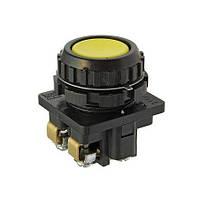 Кнопка КЕ-011 исполнение 5 жёлтая