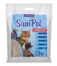 Наполнитель туалетов Природа Sani Pet универсальный 2.5 кг