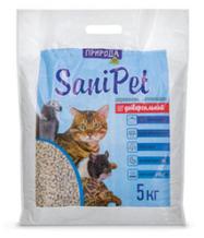 Наполнитель туалетов Природа Sani Pet универсальный 5 кг