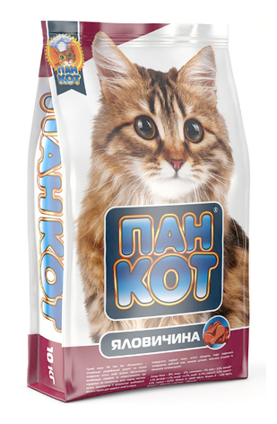 Пан Кот Говядина 10 кг, фото 2