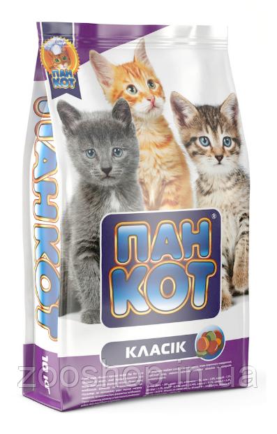 Пан Кот Классик 10 кг