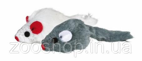 Плюшевая мышь для кошки Trixie 6 шт, фото 2