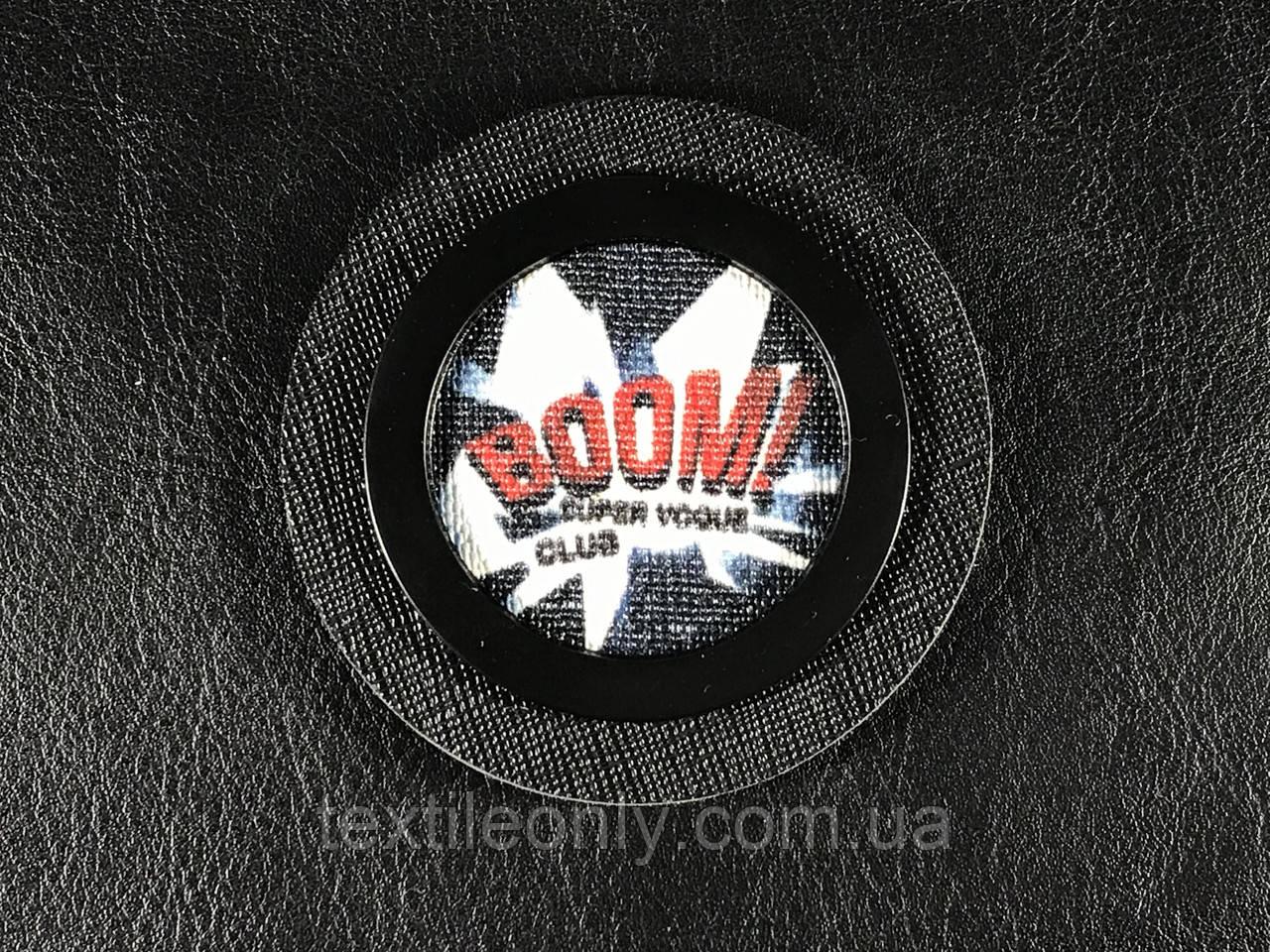 Нашивка BooM \ Взрыв 65 мм
