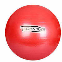 Мяч для фитнеса-75см MS 0983 (Красный)
