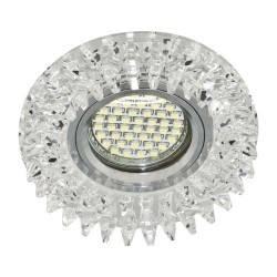 Точечный встраиваемый светильник Feron CD2540 с LED подсветкой