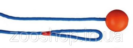 Резиновый мяч на веревке для собак Trixie, фото 2