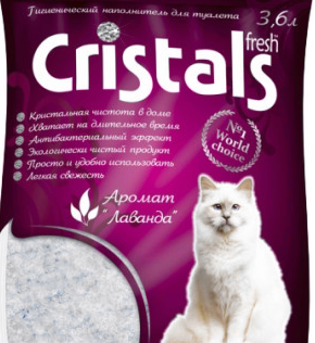 Силикагелевый наполнитель Cristals 3.6 л, фото 2