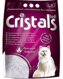 Силикагелевый наполнитель Cristals 4,8 л
