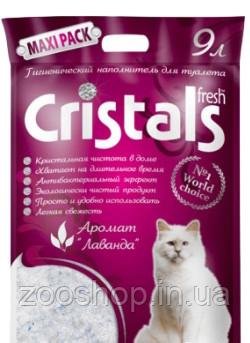 Силикагелевый наполнитель Cristals 9 л, фото 2