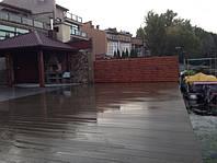 Монтаж палубної дошки на причалі (Тернопіль) Терасна система: Terrace