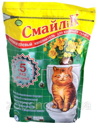 Силикагелевый наполнитель Смайлик 7.6 л